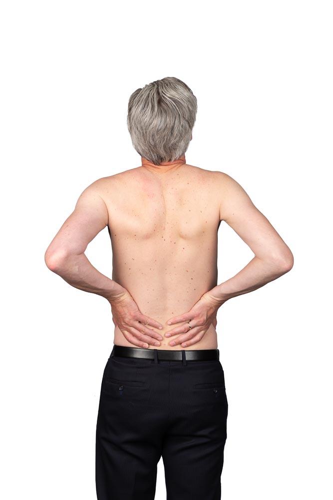 Lage rugklachten, massage kan helpen